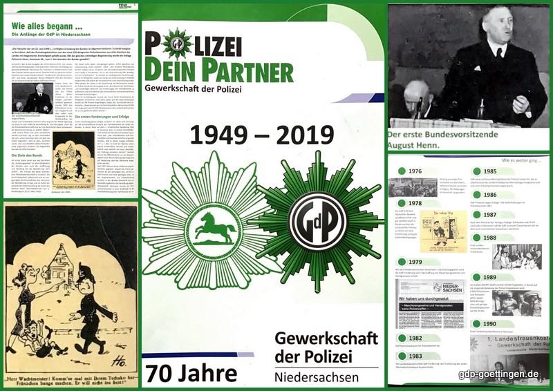Festschrift 70 Jahre GdP Niedersachsen