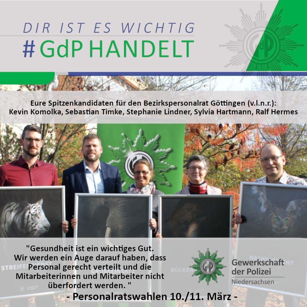 Personalratswahlen 2020 – Unsere Spitzenkandidaten für den Bezirkspersonalrat Göttingen