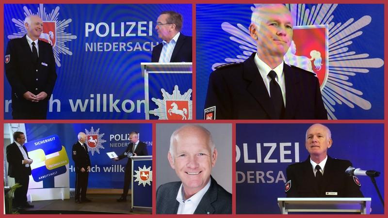 Ralf Leopold übernimmt die Aufgaben des Landespolizeidirektors von Knut Lindenau