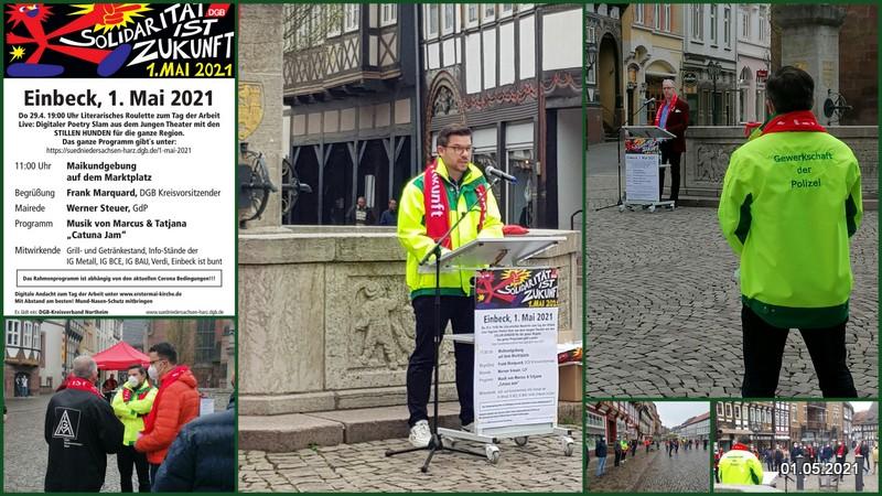 1. Mai 2021 in Einbeck