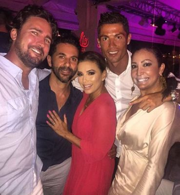 Cristiano Ronaldo and Eva Longoria hang out in Ibiza - Maud Manyore Post 1
