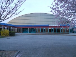 Ice Sport Arena at the Sportforum: Home ice for SC Dynamo Berlin in Dieter Frenzel's years (photo: author)