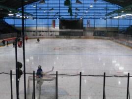 The rink at the Sportforum (photo: author)