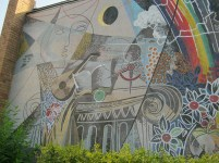 Detail from Womacka mural (photo: Richard Harrison)