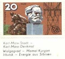 Karl-Marx-Stadt and Volgograd . . .