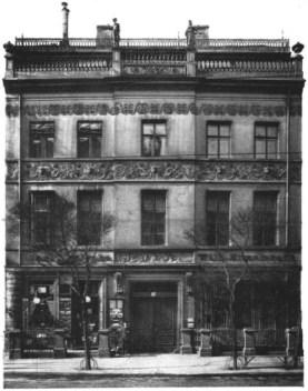 Ermeler House in August 1912 (photo: Wikicommons, Wiener Bauindustrie-Zeitung, August 9, 1912)