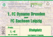 LPZ Football - Sachsen DD Ticket