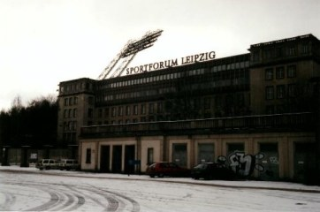 Lok's home ground, the mammoth Zentralstadion (photo: author).