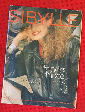Cover of Sibylle from Jan/Feb 1982 (photo: R. Newson).