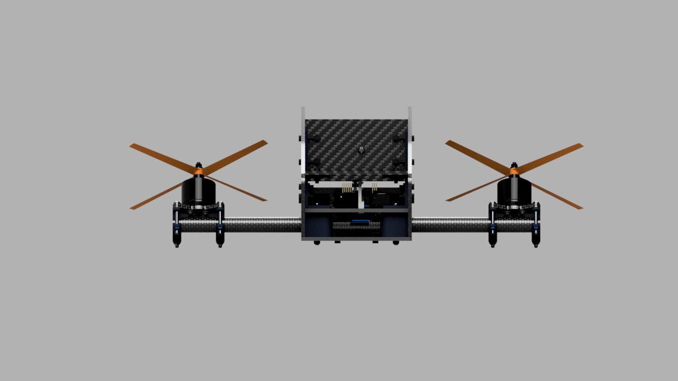 Tilt Motor Quadcopter Autodesk Online Gallery