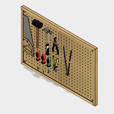 wall mounted tool rack autodesk online