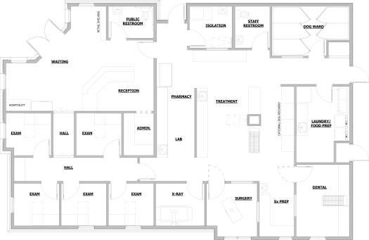 Veterinary Floor Plan