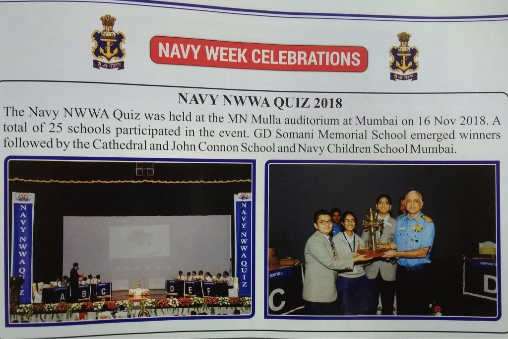 Navy NWWA Quiz 2018