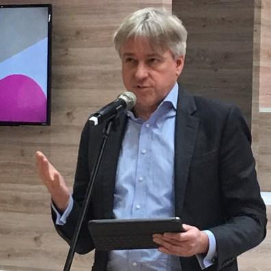 德國法蘭克福書展主席尤根・博斯(Juergen Boos)