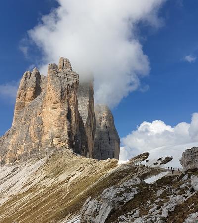 Dolomity - Tre Cime (Drei Zinnen)