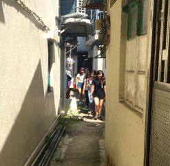 Getting lost in Pok Fu Lam village