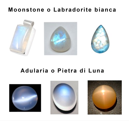 Differenza Adularia Labradorite