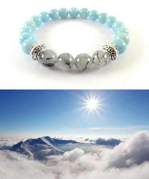 Bracciale Nuvola Montagna