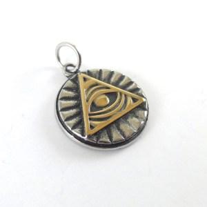 Ciondolo Occhio onniveggente amuleti egizi