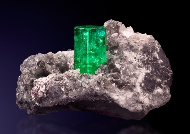 Smeraldo su matrice