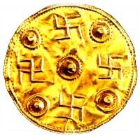 Svastica su moneta