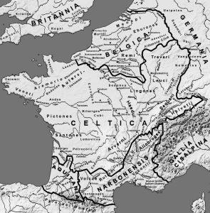 Mappa popolazioni europee