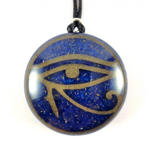 Ciondolo Orgonite Occhio di Horus