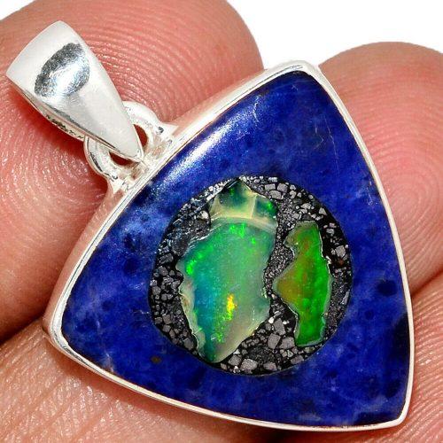 Ciondolo Opale etiopia