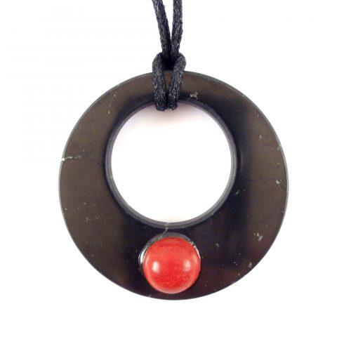 Ciondolo Corallo rosso naturale da donna