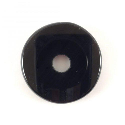 Pietra forata Ossidiana nera