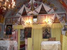 Biserica de lemn - Lacu -interior