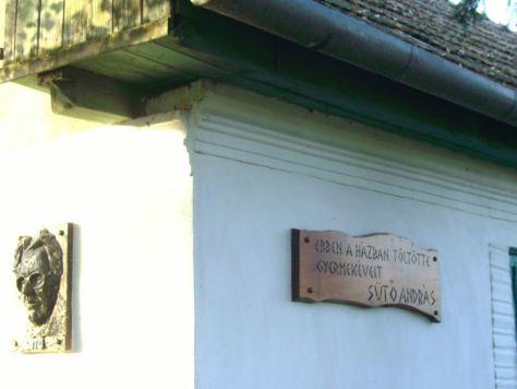 Casa Suto Andras-inscriptie