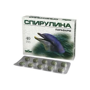 СПИРУЛИНА - 40 ТАБЛ