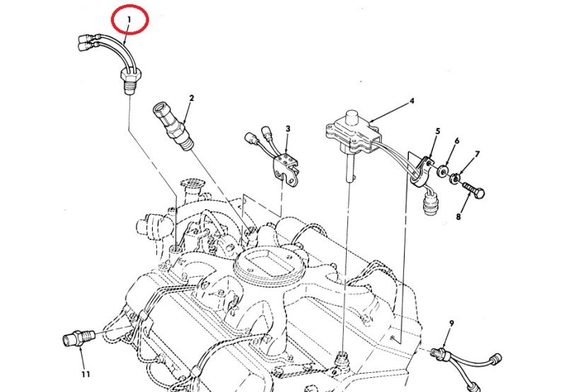 HMMWV M998 Engine Fan Shut Off Switch Replacement Hummer