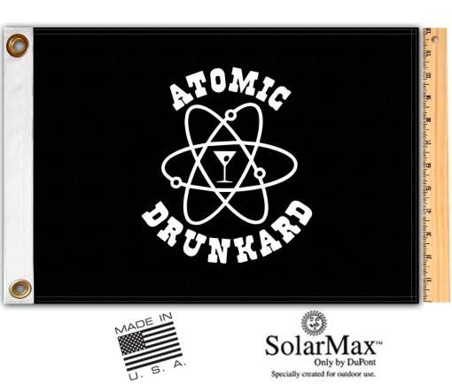 Atomic Drunkard Flag