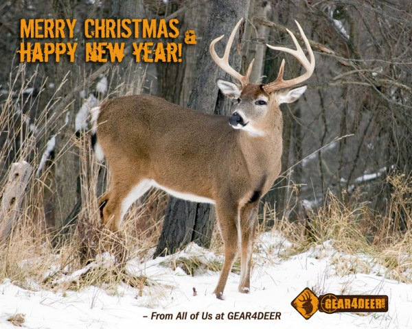 Merry Christmas & Happy New Year - Gear 4 Deer - G4D ...
