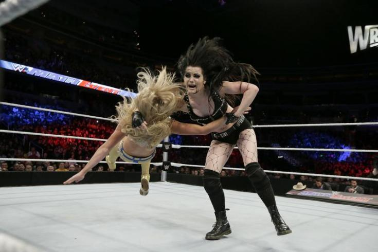 WWE Paige Wrestlemania