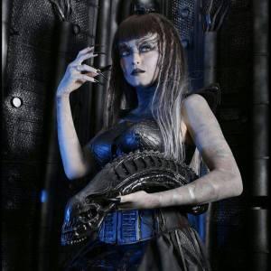 Onyxeia HR Giger Cosplay