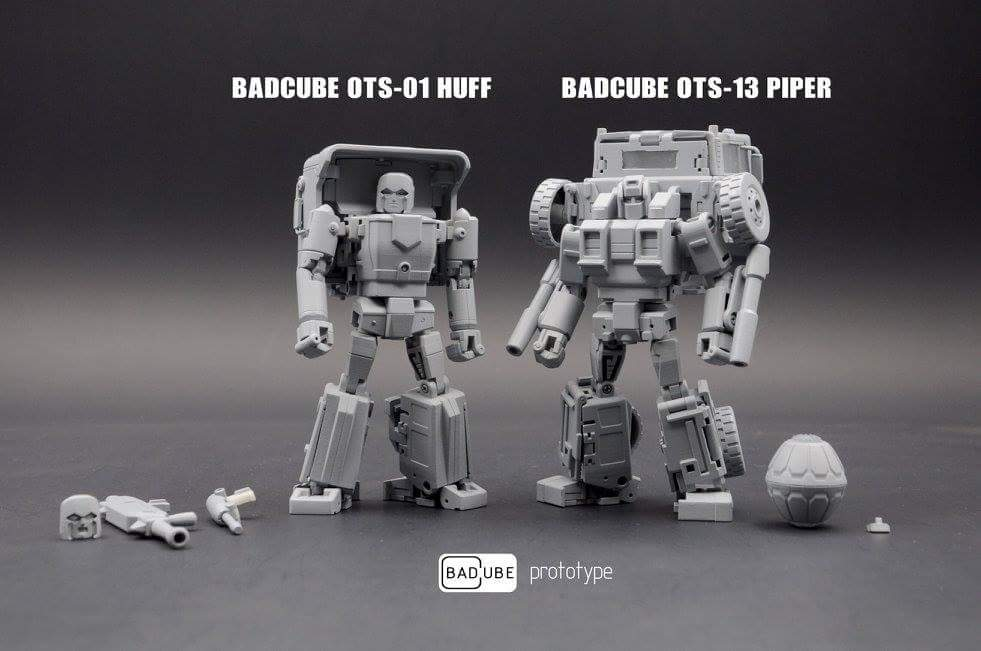 BadCube Huff and Piper Announced