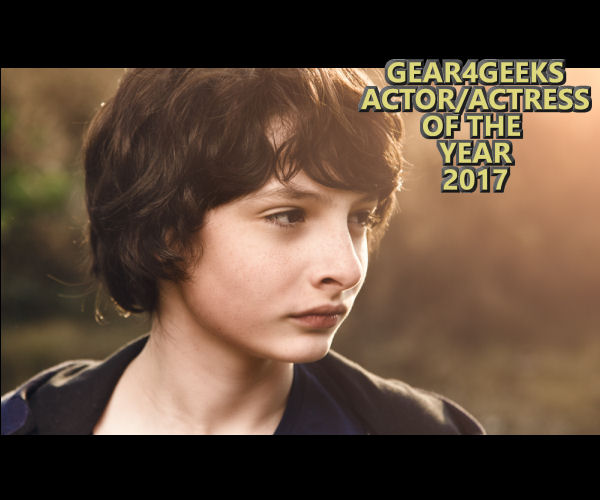 Gear4Geeks Actor/Actress of the Year 2017 Finn Wolfhard