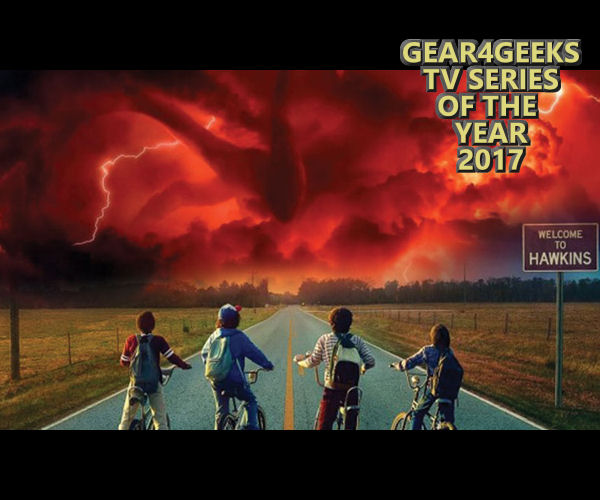 Gear4Geeks TV series of the year 2017 Stranger Things