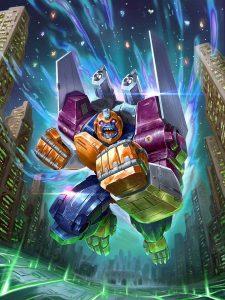 Power of the Primes artwork Optimal Optimus