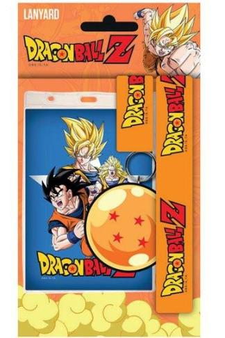 Dragonball Z Lanyard And Rubber Keychain