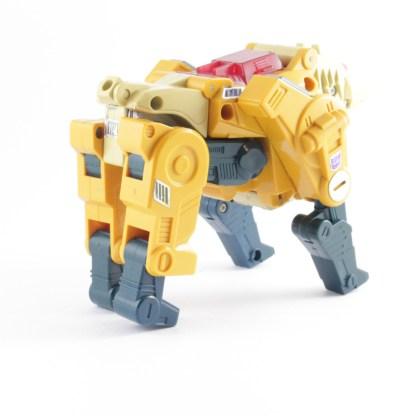 Transformers Vintage G1 Weirdwolf PREOWNED