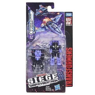 Transformers War For Cybertron Siege Stormcloud and Visper Micromasters