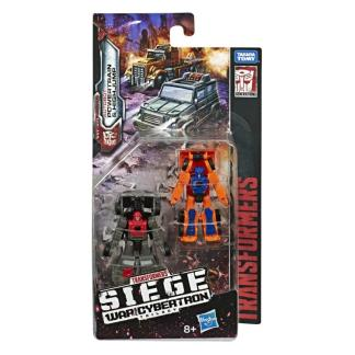 Transformers War For Cybertron Siege Powertrain & Highjump Micromasters