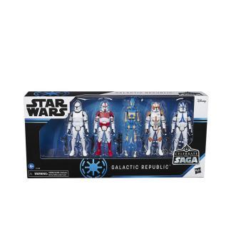 Star Wars Celebrate the Saga Galactic Republic Action Figures Set