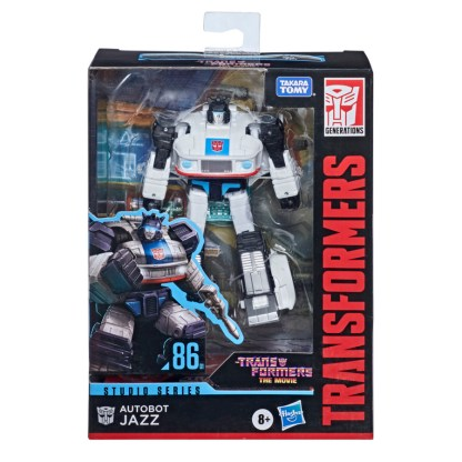 Transformers Studio Series Deluxe Class 1986 Autobot Jazz Action Figure
