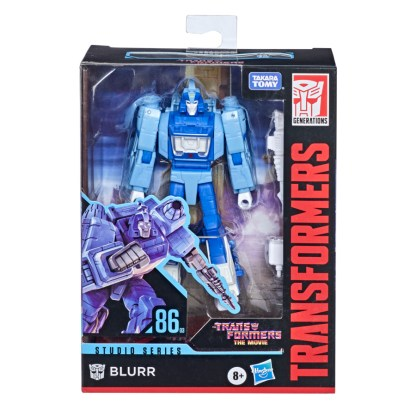 Transformers Studio Series Deluxe Class 1986 Blurr Action Figure
