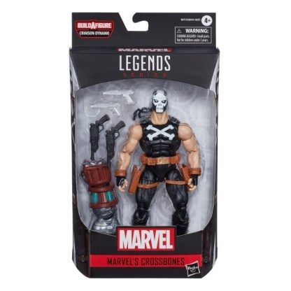 Marvel Legends Black Widow Crossbones Action Figure Toy